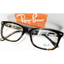 Armação Óculos De Grau Modelo Rb5228 Tartaruga Acetato