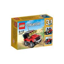 Brinquedo Lego Creator Carros De Corrida Do Deserto 31040