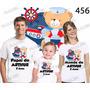 Lembrança De Aniversario Ursinho Marinheiro Camiseta Com 3