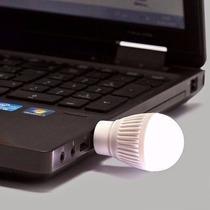 Mini Lampada Luminária Usb Led Branca Frio