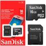 Cartão De Memória Micro Sd 16gb Galaxy iphone samsung lg ace