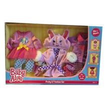 Roupa Baby Alive Set 3 Modelos Original Usa -pronta Entrega
