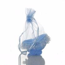 Kit Lembrançinha Bebê, Reçem Nascido Azul Berçinho