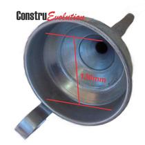 Funil D Ferro Metal Grande P Trocador Oleo Posto Combustivel