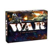 Novo Lacrado Jogo War Edição Especial Original Grow