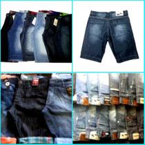 Bermuda Jeans Quiksilver, Holistter, Lacoste, Ripcurl, Billa
