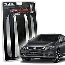 _friso Para-choque Cromado Honda New Civic 72 73 74 Jg 4pçs