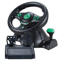Volante 4 Em 1 Xbox360/ps3/ps2/pc Com Marcha Acoplada Js075