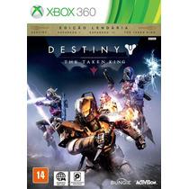 Jogo Destiny The Taken King Xbox 360 Ed.léndaria Lançamento