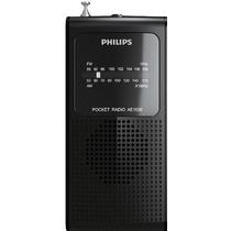 Rádio Philips Portátil Am/fm Ae-1500 P\ Futebol Jogos
