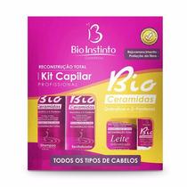 Kit5 Capilar D-pantenol Queratina Professional Bio Instinto