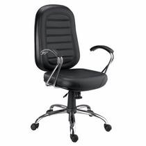 Cadeira Presidente Gomada Cromada