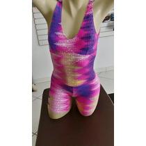 Macaquinho Feminino Suplex Fitness Academia E Ginastica