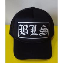 Boné Bls Black Label Society Trucker Cap Tela