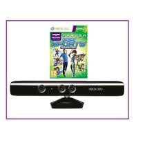 Sensor Kinect Xbox 360 + Jogo Adventures - Box - Sem Juros