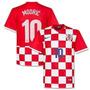 Camisa Croacia 2015 N°10 Modric + Frete Gratis
