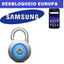 Desbloqueio Samsung Europa Galaxy Note 3 4 S3 S4 S5 S6 S6