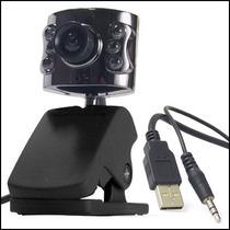 Web Cam 5 Mega Pixels Com 6 Leds E Microfone