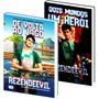 Livro Dois Mundos Um Herói E De Volta Ao Jogo Rezendeevil!!!