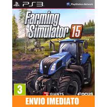 Farming Simulator 15 - Ps3 - Código Psn - Envio Agora !!