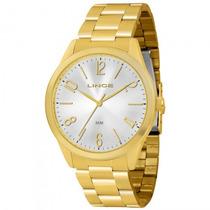 Relógio Lince Lrg4220l S2kx Feminino Dourado - Refinado