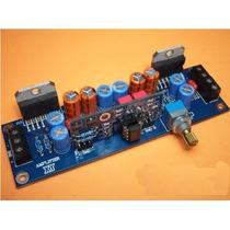 Placa Lisa Montar Amplificador Potência Ci Tda7293 Estéreo