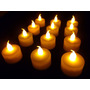 Kit 60 Velas Decorativas Led Amarelo Bateria Cr2032 Inclusas