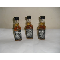 Kit Com 6 Miniaturas Whisky Jack Daniel