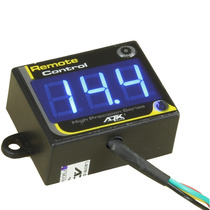 Voltímetro Digital Ajk Remote Control Azul