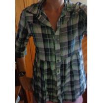 Blusa Blusão Meia Estação Xadrez Semi Nova #36
