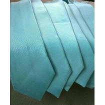 Gravata Azul Tiffany Em Cetim Semi Slim Atacado E Varejo