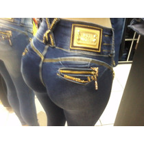 Calça Feminina Jeans Pitbull Azul Claro + Frete Grátis