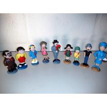 Turma Do Chaves - Esculturas Em Resina (pack 12 Peças)
