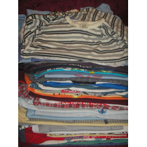 Camisetas Manga Longa Infantil Nº4 A 10 Lote 150 Peça Brechó