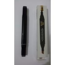 Lápis/caneta De Henna 2 Em 1 Para Sobrancelha E Olhos