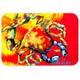 Crab Hot Dang De Mesa De Vidro Corte Grande