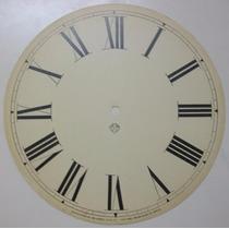 Mostrador Para Relógio Ansônia Modelo 8 - Original