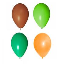 200 Balões Art-latex N9 - Bexiga Para Decorar Festa Safari