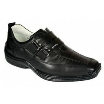 Sapato Masculino Linha Relaxante Alcalay Total Conforto Luxo