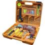 Furadeira + Kit Ferramentas Completo +maleta 102 Pcs Em Crv