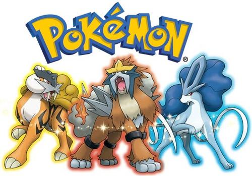 Pack Pokémon Cães Lendários 3ds