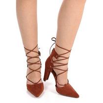 Sapato Scarpin Feminino Bebece - Caramelo