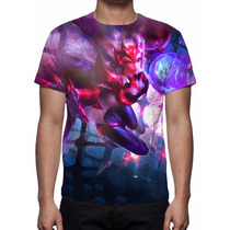 Camisa, Camiseta Game League Of Legends - Ahri Desafiante