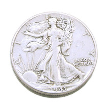 Half Dollar 1941 Estados Unidos; Moeda Em Prata 0445