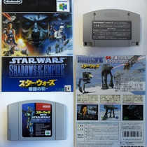 Fita Star Wars Shadows Of The Empire Nintendo 64 Cartucho