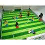 Futebol Craques Uefa Champions League Campo + Bonecos