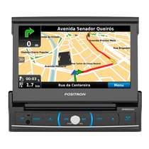 Central Multimídia 7 Retratil Usb Bt Gps Tv Digital Sp6920