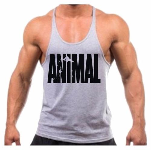 854f69deaa Camiseta Regata Cavada Animal Musculação Academia Treino Top - R  29 ...