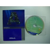 Cd Driver/manual Original Placa Mãe Asrock Mod.ad525pv3