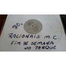 Disco Vinil Racionais Mc Fim De Semana No Parque